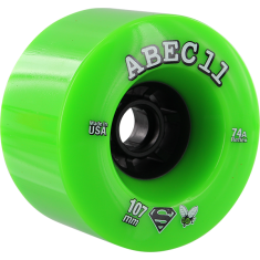 ABEC11 SUPERFLYS 107mm 74a LIME/BLK