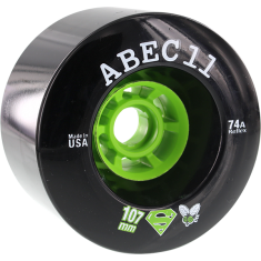 ABEC11 SUPERFLYS 107mm 74a BLACK/LIME