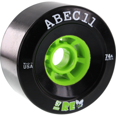 ABEC11 FLYWHEELS REFLY 97mm 74a BLACK/LIME