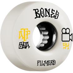 BONES ATF FILMERS 54mm 80a WHITE