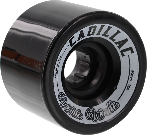 CADILLAC WHITE WALLS 59mm 78a BLACK