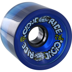 CLOUD RIDE! CRUISER 69mm 78a CLEAR MIDNIGHT BLUE