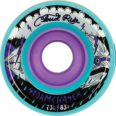 CLOUD RIDE! STORM CHASER 73mm 83a TURQUOISE