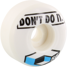 CONSOLIDATED DON'T DO IT 56mm WHITE