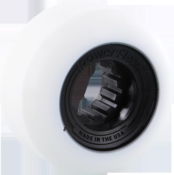 POWERFLEX GUMBALL 54mm 83b WHT/BLACK