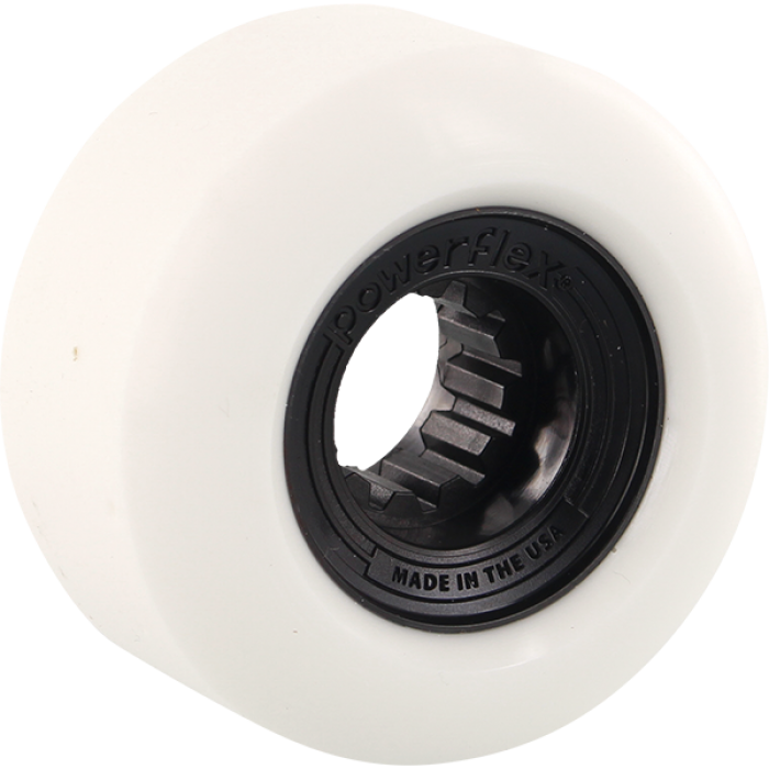 POWERFLEX GUMBALL 60mm 83b WHT/BLACK