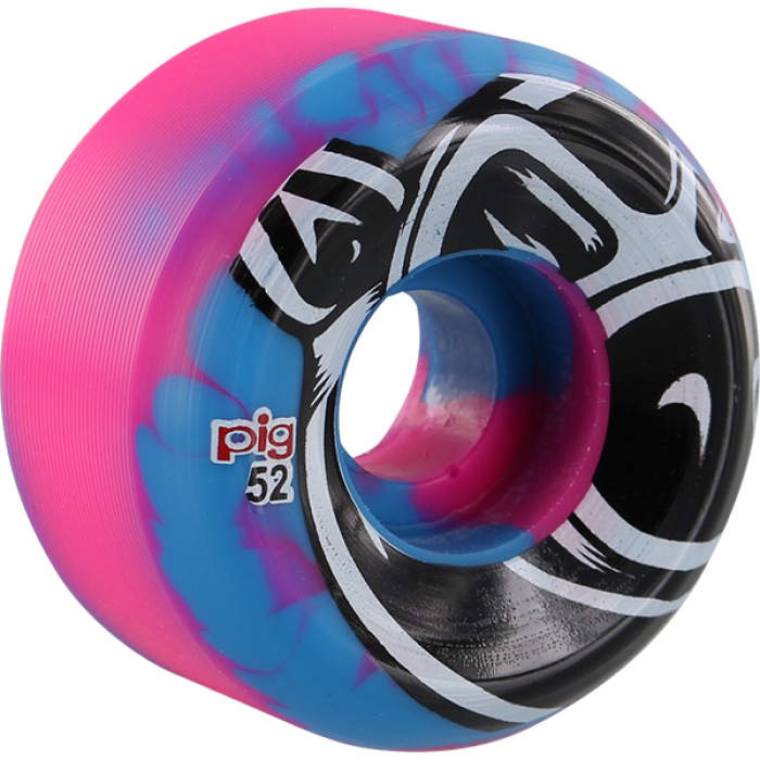 PIG CONICAL HEAD 52mm BLUE/PINK SWIRL