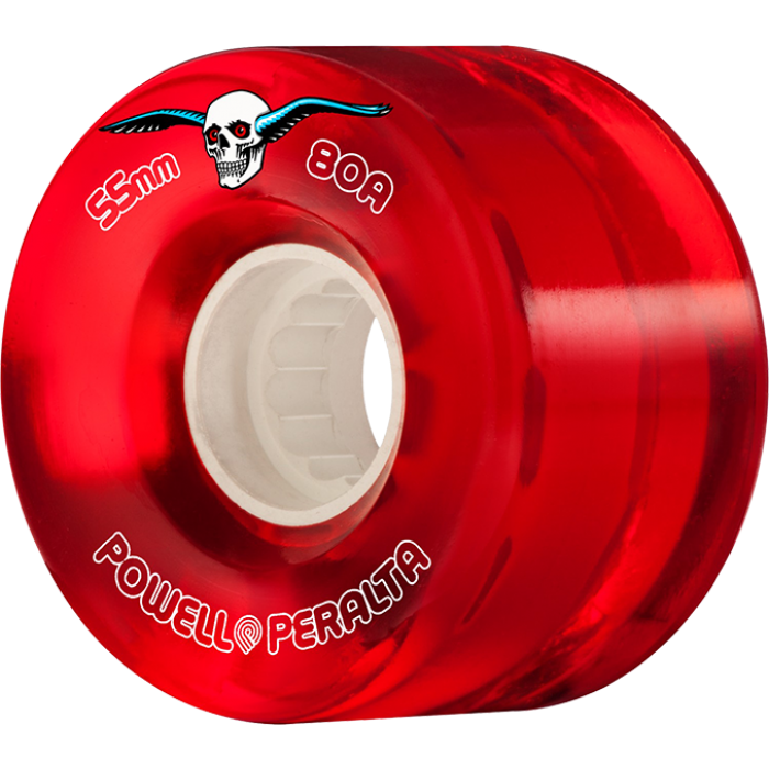 PWL/P CLEAR CRUISER 55mm 80a RED