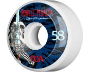 PWL/P RAY ROD SKULL & SWORD 58mm 90a WHT/BLU/RED