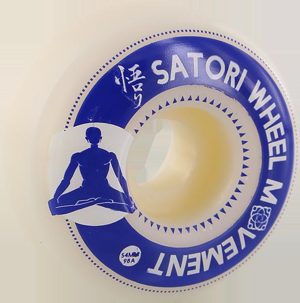 SATORI MEDITATION 54mm 98a WHT/BLU
