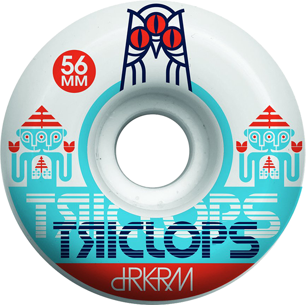 TRICLOPS SPINNER 56mm WHT