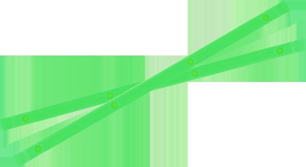 YOCAHER BOARD RAILS NEON GREEN