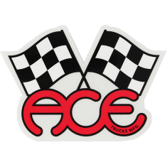"""ACE FLAGS 4.75"""" STICKER ASSORTED 1pc"""