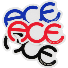 """ACE RINGS 3.5"""" STICKER ASSORTED 1pc"""
