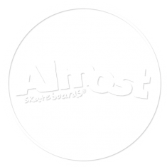 ALMOST WHITE LINES DECAL single