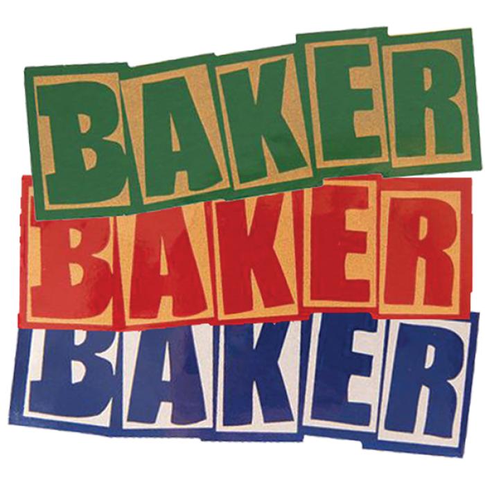 BAKER BRAND LOGO HO20 DECAL SINGLE ASST.
