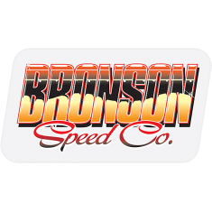 """BRONSON CANT BE BEAT DECAL 3.5""""X1.9"""""""