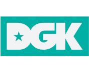 DGK CLASSIC STICKER WHITE/TEAL