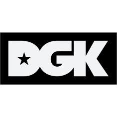 DGK CLASSIC STICKER WHITE/BLACK