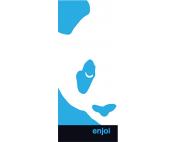 ENJOI BOX PANDA STICKER SINGLE