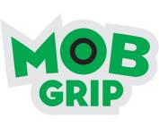 """MOB GRIP LOGO DECAL 1.75""""x1"""" GRN/BLK"""