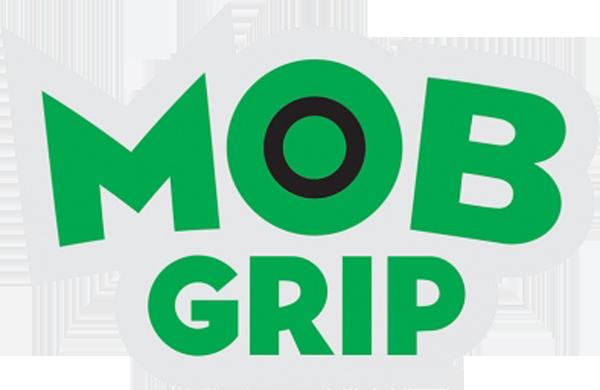 """MOB GRIP LOGO DECAL 3.25""""x2.125"""" GRN/BLK"""