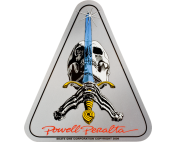 PWL/P SKULL & SWORD DECAL single