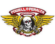 PWL/P WINGED RIPPER OG OVAL DECAL RED