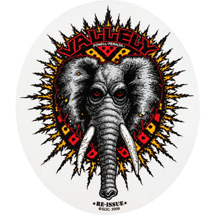 PWL/P VALLELY ELEPHANT DECAL single