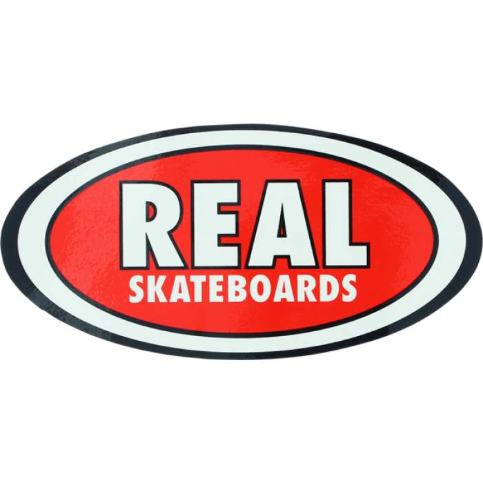 REAL OVAL CLASSIC MD DECAL single