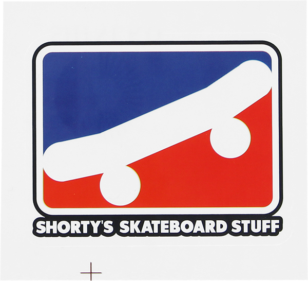 "SHORTYS SKATE ICON 2.5"" DECAL"