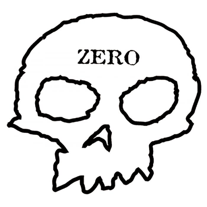 ZERO SKULL DECAL single