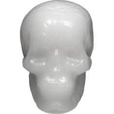 ANDALE SKULL WAX WHITE