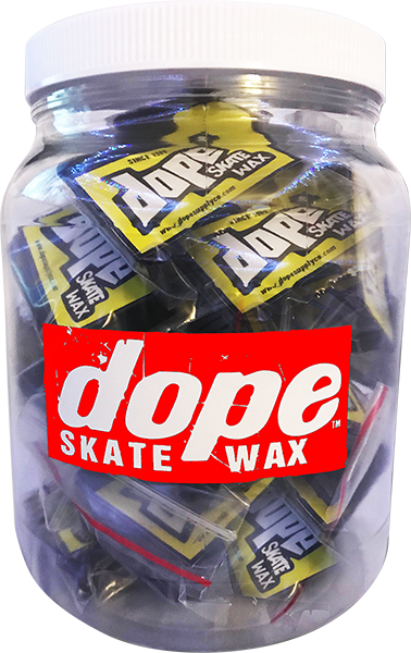 DOPE SKATE WAX MINI NUG JUG 25/BARS assorted