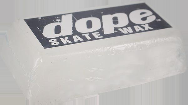 DOPE WAX LARGE BRICK CLEAR WHITE