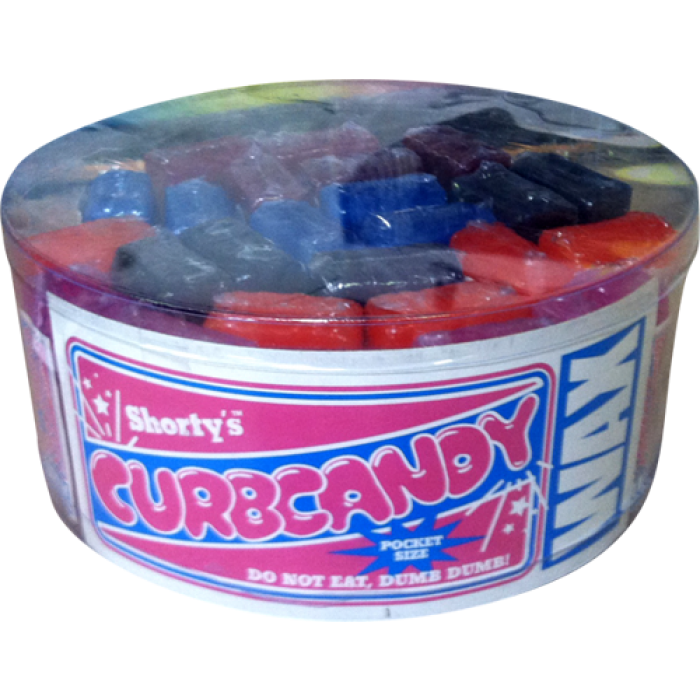 SHORTY'S CURB CANDY WAX 25 piece container