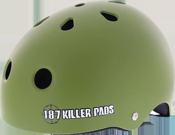187 PRO SWEATSAVER HELMET L-MATTE ARMY