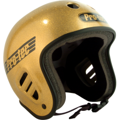 PROTEC FULLCUT GOLD FLAKE-L HELMET