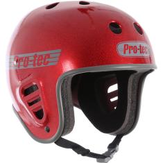 PROTEC FULLCUT RED METAL FLAKE-L HELMET
