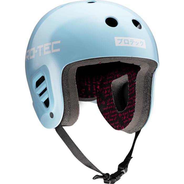 PROTEC FULLCUT SKY BROWN LT.BLUE/WHT-XS HELMET