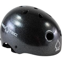 PROTEC CLASSIC BLACK METAL FLAKE-XS HELMET