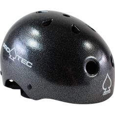 PROTEC CLASSIC BLACK METAL FLAKE-XL HELMET
