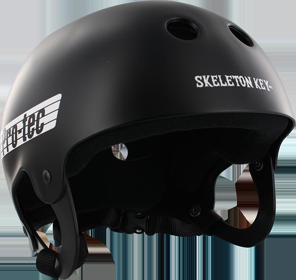 PROTEC CLASSIC SKELETON KEY-XL BLK/WHT HELMET