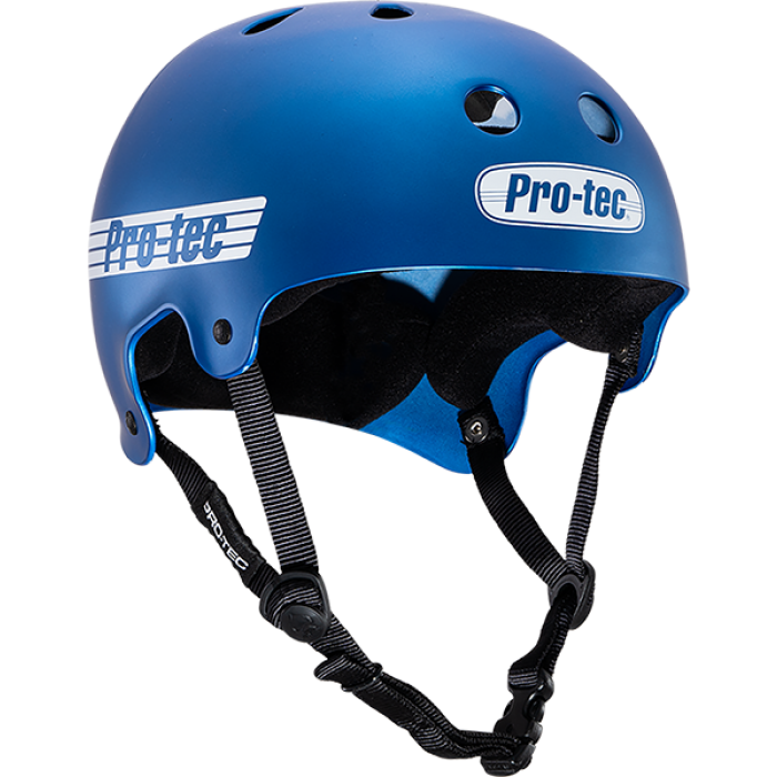 PROTEC CL.OLD SCHOOL MATTE METALLIC BLU-L HELMET