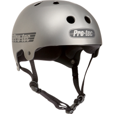 PROTEC CL.OLD SCHOOL MATTE METALLIC GUN-S HELMET