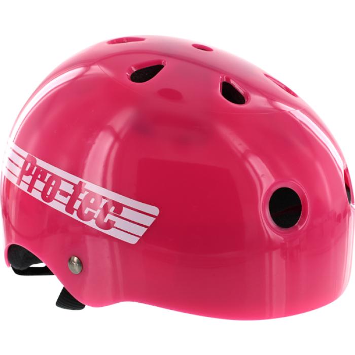 PROTEC CLASSIC RETRO TRANS.PINK-XL HELMET