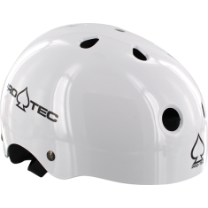 PROTEC CLASSIC GLOSS WHITE-S HELMET