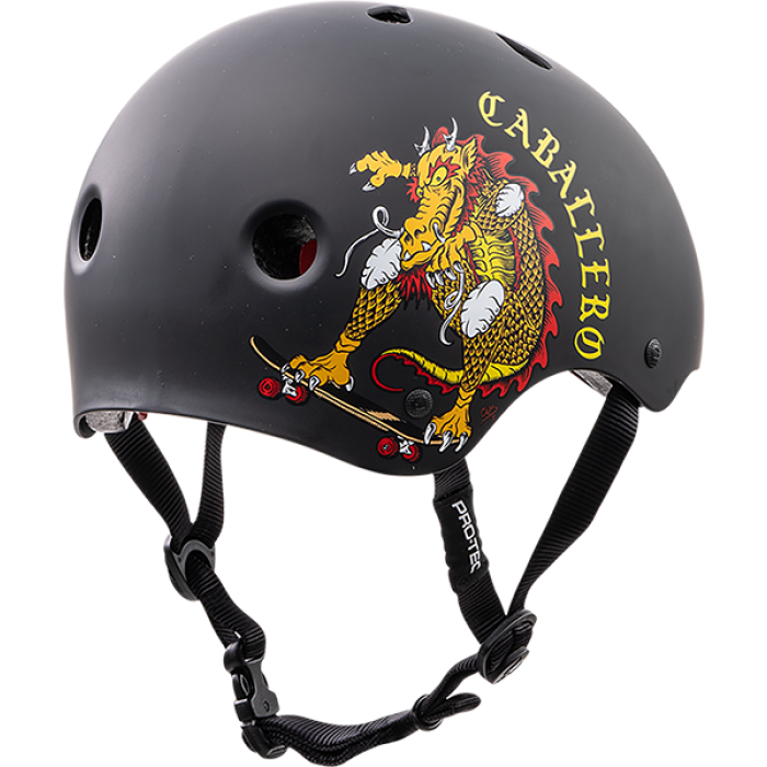 PROTEC(CPSC)CLASSIC CAB DRAGON XS-BLK/RED