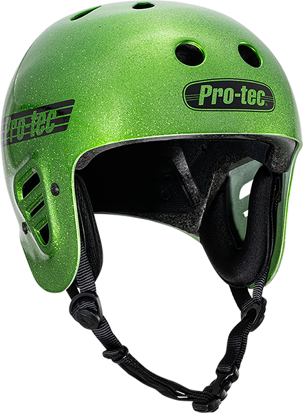 PROTEC(CPSC)CLASSIC CANDY GREEN FLAKE-S HELMET
