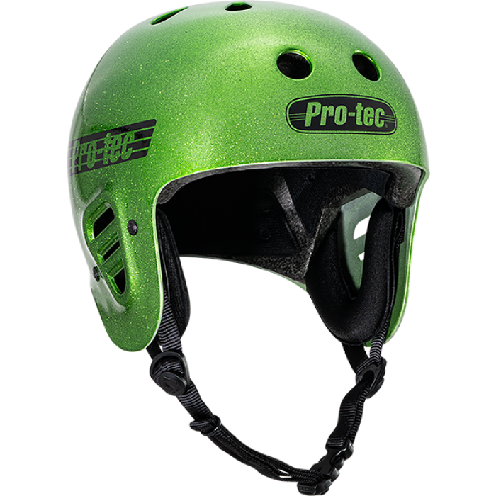 PROTEC(CPSC)CLASSIC CANDY GREEN FLAKE-XL HELMET